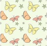 бабочки безшовные Стоковая Фотография RF