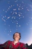 Бабочки в моей голове Стоковое Фото