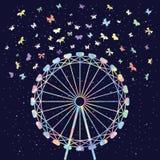 Бабочки колеса фестиваля Стоковая Фотография RF