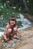 бабочки мальчика Стоковое Изображение