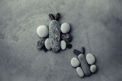 Бабочки от камешков Стоковые Фото