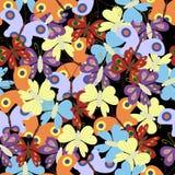 бабочки предпосылки безшовные Стоковое Фото