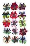 Бабочки пушистых шерстей Стоковое Изображение