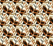 Бабочки стиля Арт Деко Стоковое фото RF