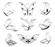 бабочки Стоковая Фотография RF