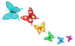 Бабочки Стоковые Изображения