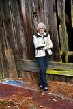 Бабушка и хорошие старые дни Стоковая Фотография RF