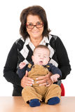 бабушка младенца Стоковое Изображение