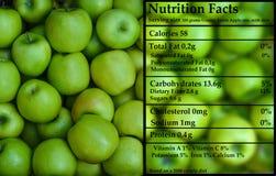 Бабушка Смит - зеленые яблоки - питание Стоковая Фотография RF