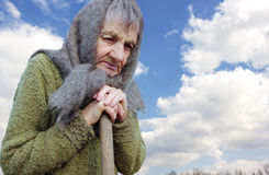 бабушка старая Стоковое Фото