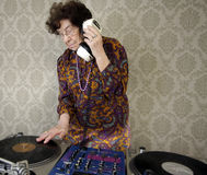 бабушка dj Стоковые Фотографии RF