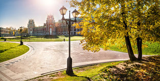 Бабье лето в Tsaritsyno Стоковая Фотография RF