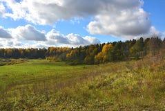 бабье лето Русские открытые пространства Стоковое фото RF