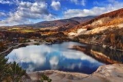 Бабье лето в mountans - Словакия Стоковая Фотография