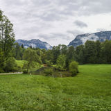 Бавария Германия ландшафта юго-западная Стоковая Фотография