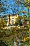 Бавария, Германия - 15-ое октября 2017: Замок Hohenschwangau, chil Стоковое фото RF