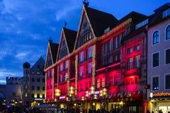 Бавария Мюнхена, покупки рождества Стоковое Изображение
