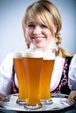 Баварская девушка Стоковое Изображение