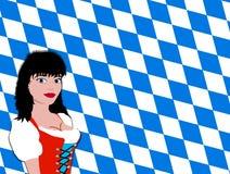 баварская девушка Стоковая Фотография RF
