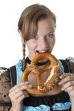 Баварская девушка Стоковые Фотографии RF