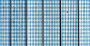 Баварская картина флага текстура традиционная предпосылка oktoberfest стоковые фотографии rf