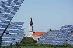 баварская панель церков солнечная Стоковое фото RF