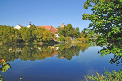 баварская пуща Германия cham стоковое фото rf