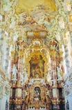 баварская церковь Стоковые Изображения
