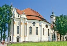 баварская церковь Стоковая Фотография