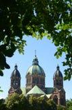 баварская церковь стоковое фото rf