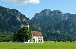 Баварские замоки стоковые изображения