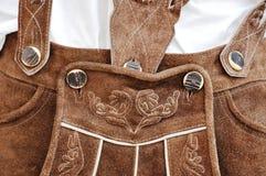 баварские кожаные брюки Стоковая Фотография RF
