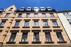 Баварский фасад кирпича Стоковое Фото