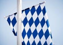 Баварский флаг Стоковое Изображение