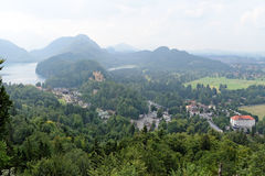 Баварское альп, Германия Стоковое фото RF