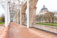 Баварское здание ведомства канцлера положения, Мюнхен, верхняя Бавария, Бавария, Германия стоковые фото