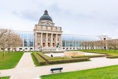 Баварское здание ведомства канцлера положения, Мюнхен стоковое фото