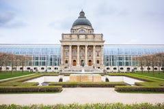 Баварское здание ведомства канцлера положения, Мюнхен стоковое изображение rf