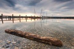 Баварское озеро Стоковая Фотография
