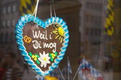 баварское сердце Стоковые Фото