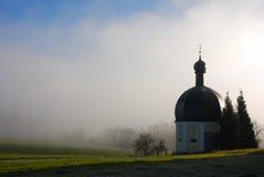 баварское утро настроения Стоковая Фотография