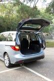 Багажник автомобиля внутрь Стоковое Изображение