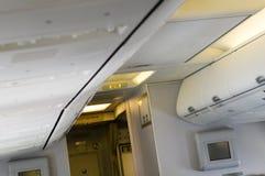 багаж кабины самолета Стоковое фото RF