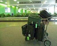 Багаж на авиапорте Стоковая Фотография RF