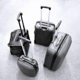 багаж самомоднейший Стоковая Фотография RF