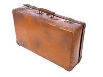 багаж старый Стоковое Фото