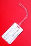 багаж ярлыка Стоковое Изображение RF