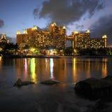 Багамы - курорт Атлантиды - остров рая Стоковая Фотография RF