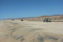 Багги дюны на пляже Стоковая Фотография