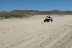 Багги дюны на пляже Стоковые Изображения